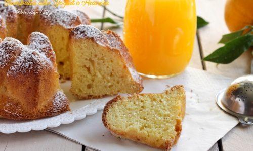 Ciambella allo Yogurt e Arancia