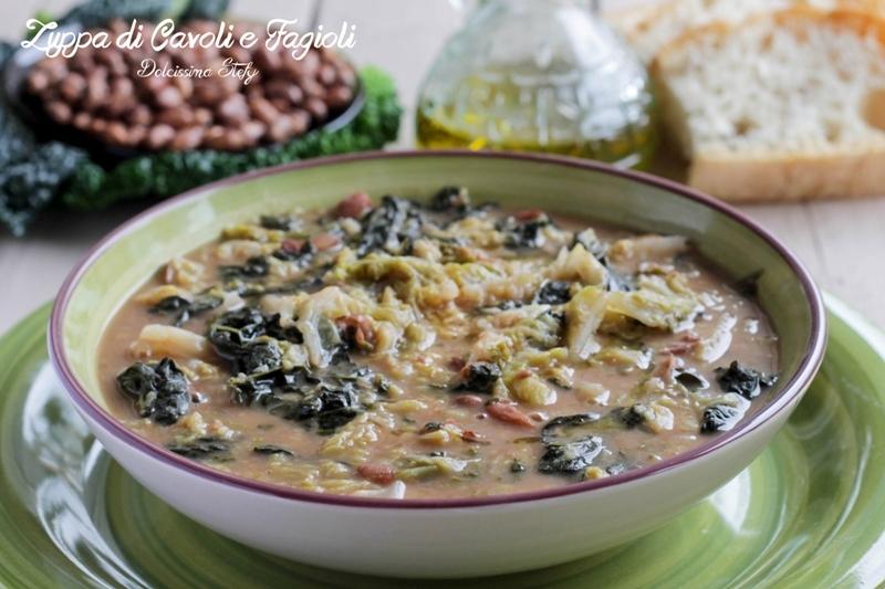Zuppa di Cavoli e Fagioli