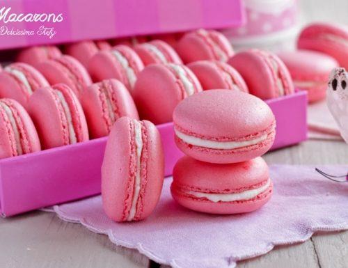 Macarons alla Vaniglia e Zenzero