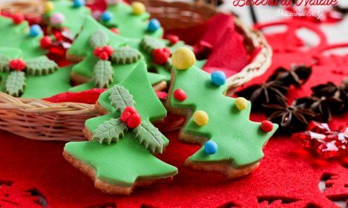 Biscotti di Natale in Pasta di Zucchero
