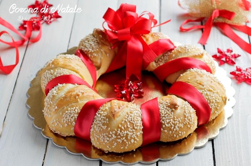 Treccia di pane per natale