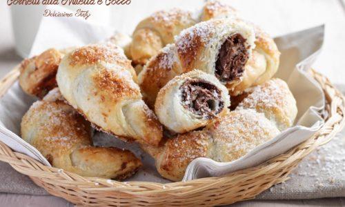 Cornetti alla Nutella e Cocco