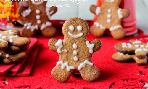 Gingerbread, i Biscotti di Pan di Zenzero