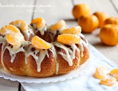Ciambella ai Mandarini glassata