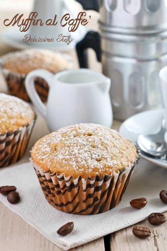 Top Muffin al Caffè, ricetta leggera - Dolcissima Stefy OM31