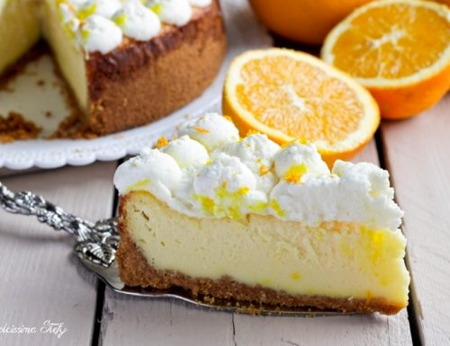 Cheesecake alla Panna e Arancia