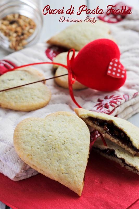 Cuori di Pasta frolla per San Valentino