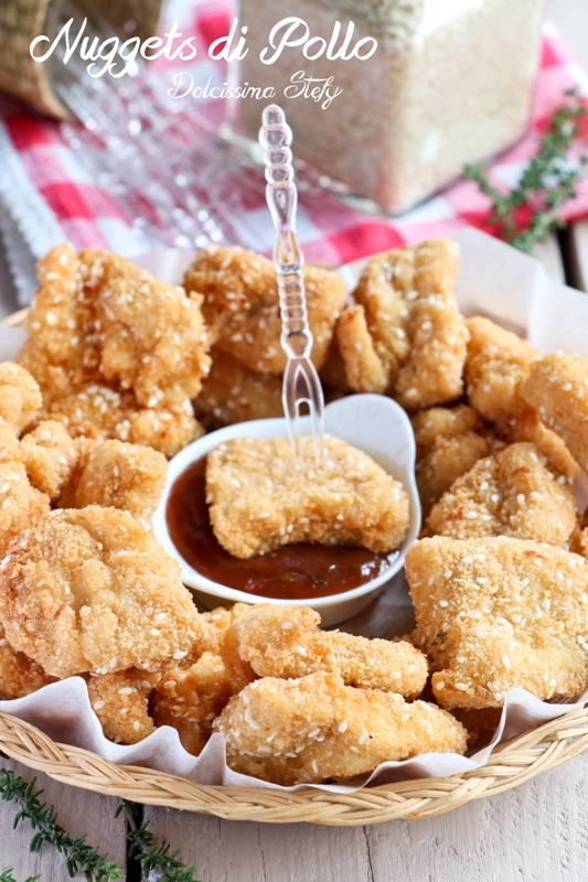 Nuggets di Pollo fatti in casa