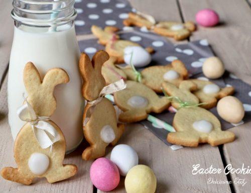 Easter Cookies, i Biscotti a Coniglietto per Pasqua