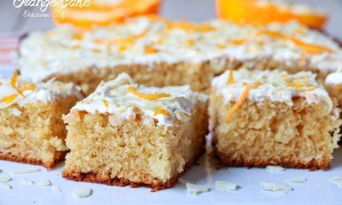 Orange Cake con Miele e Mandorle