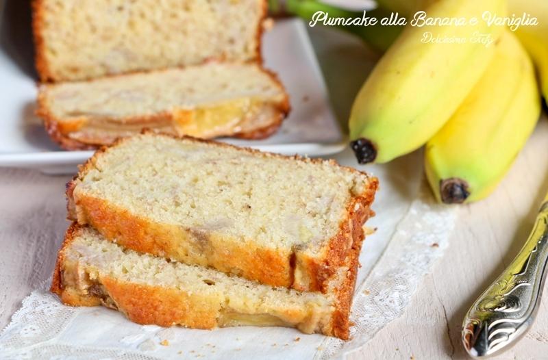 Plumcake alla Banana e Vaniglia