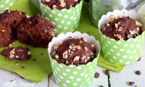 Muffin vegani con Latte di Riso e Cioccolato