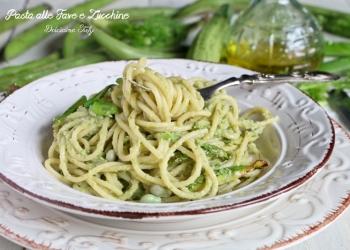 Pasta alle Fave, Zucchine e Finocchietto