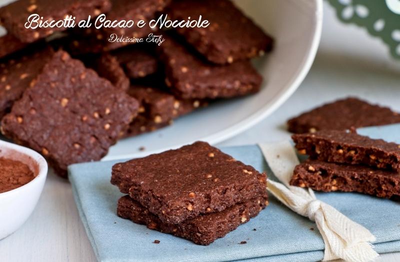 Biscotti al burro con cacao ricetta