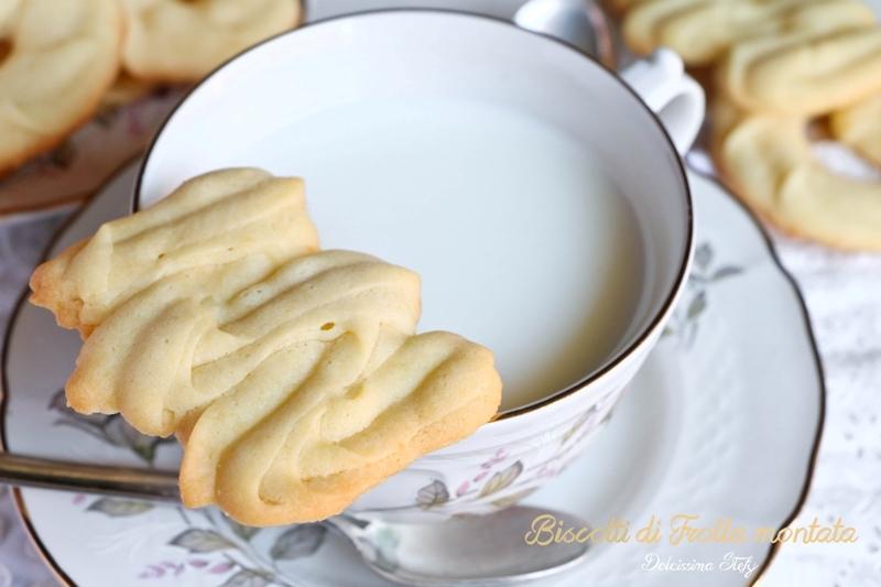 Biscotti di Frolla Montata al Limone