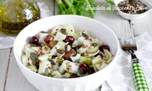 Insalata di Finocchi e Olive