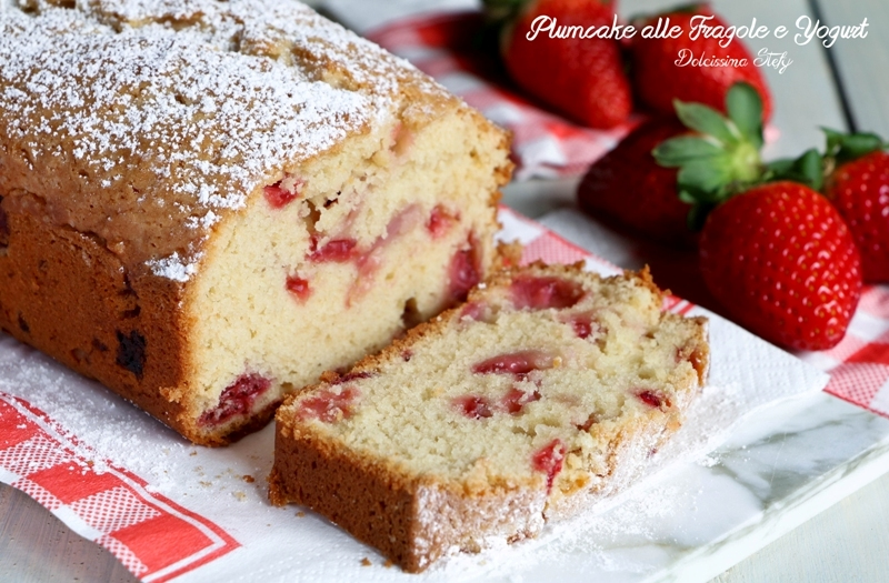 Plumcake alle Fragole e Yogurt