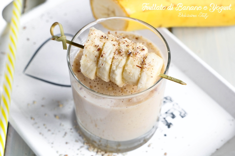 Frullato di Banane e Yogurt