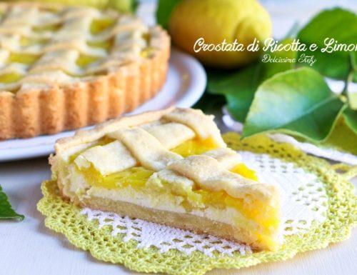 Crostata alla Ricotta e Limone