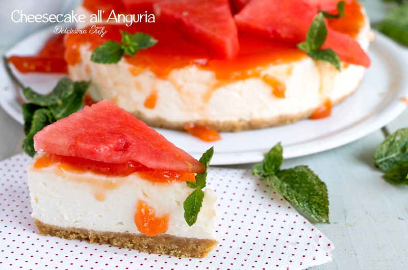Cheesecake all'Anguria