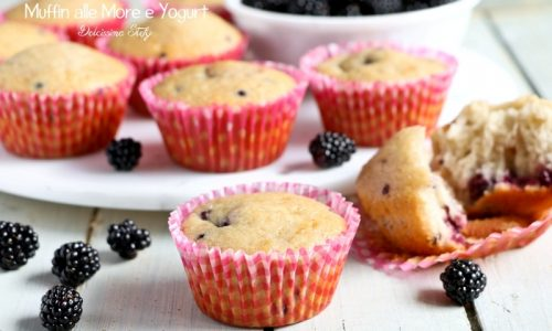Muffin alle More e Yogurt