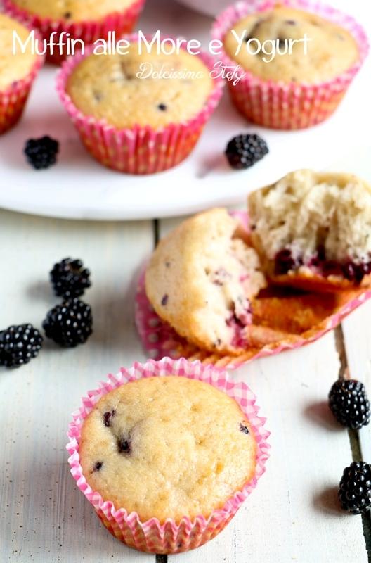 Muffin alle More e Yogurt