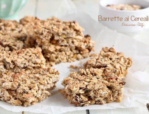 Barrette ai Cereali, Frutta secca e Miele