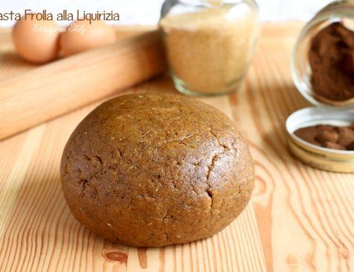 Pasta Frolla alla Liquirizia