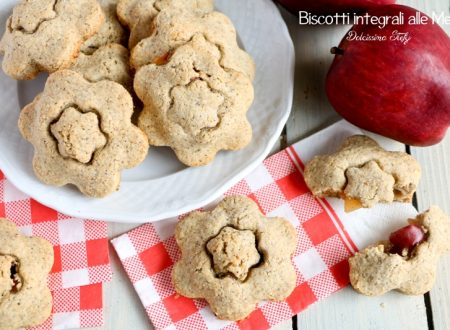 Biscotti integrali alle Mele