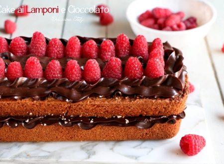 Cake ai Lamponi e Ganache al Cioccolato