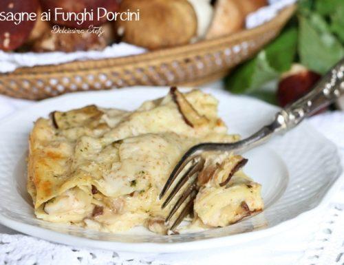 Lasagne ai Funghi Porcini