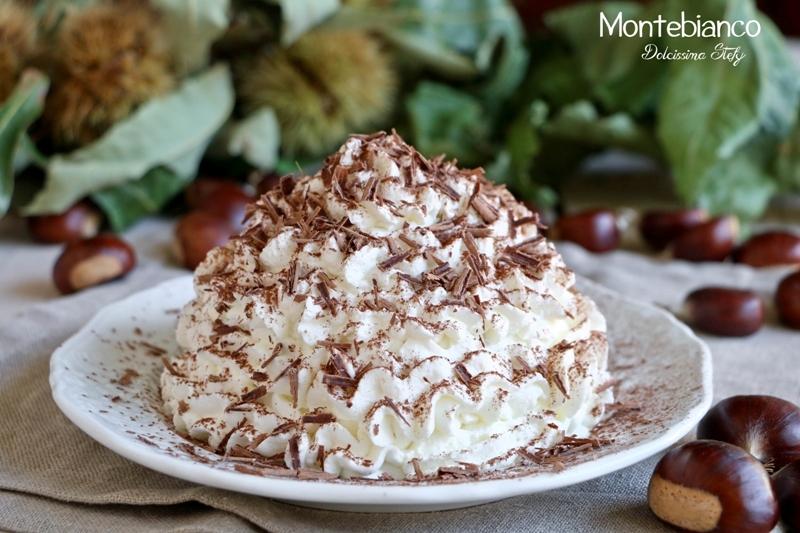 Montebianco il dolce di castagne dolcissima stefy for Dolce di castagne