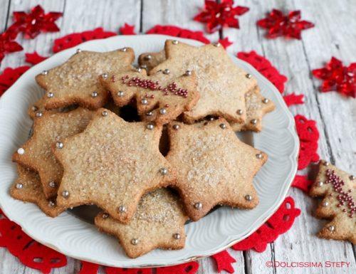 Biscotti integrali alla Cannella per Natale