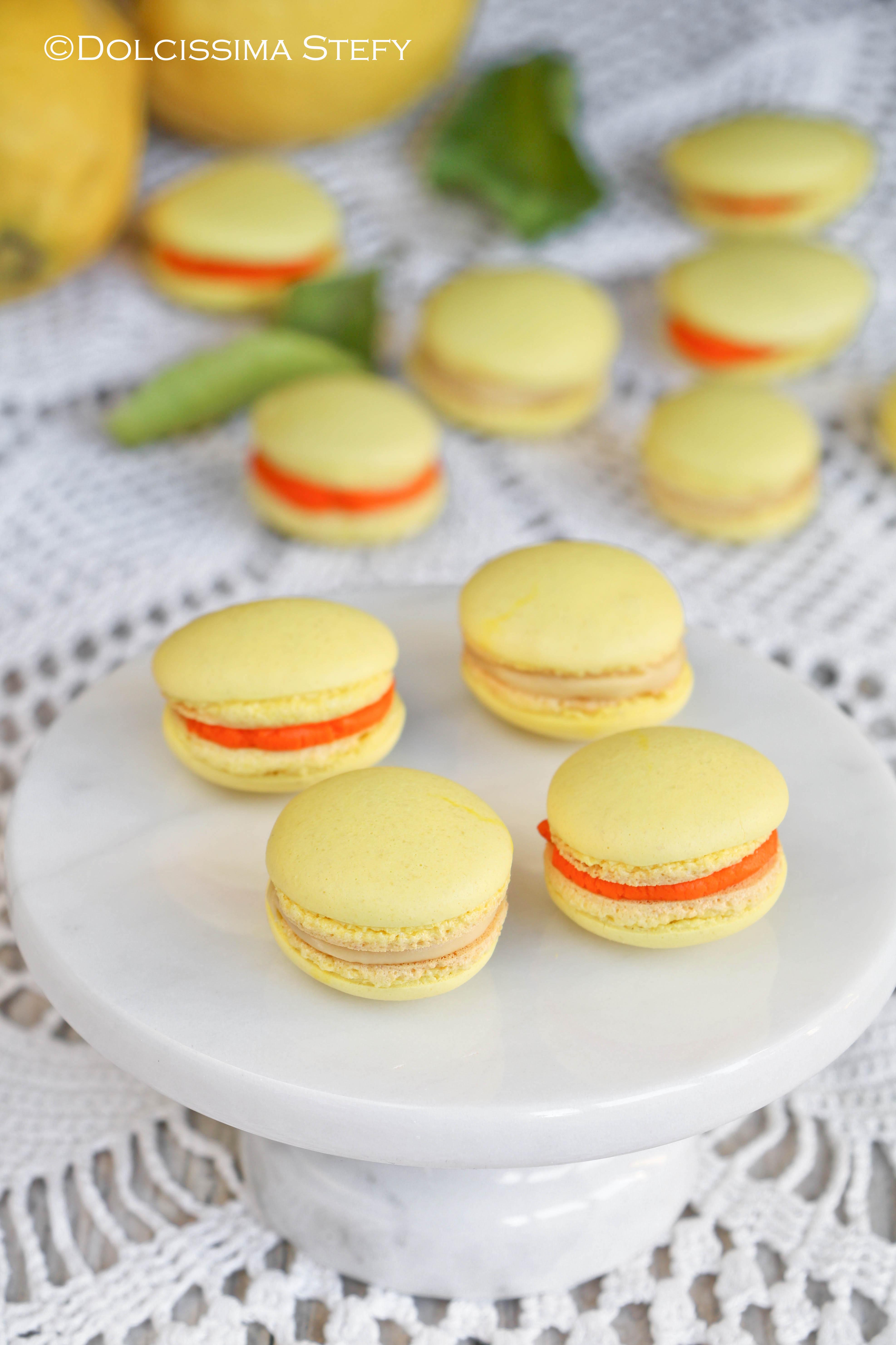 macaron al limone - dolcissima stefy