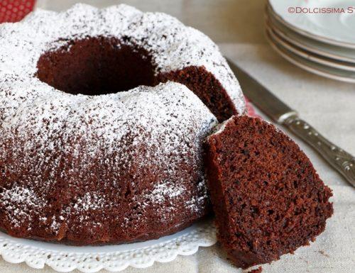 Torta al Cacao in 5 minuti