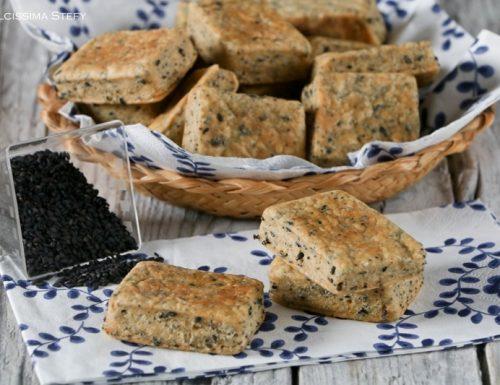 Biscotti salati alla Paprika e Semi