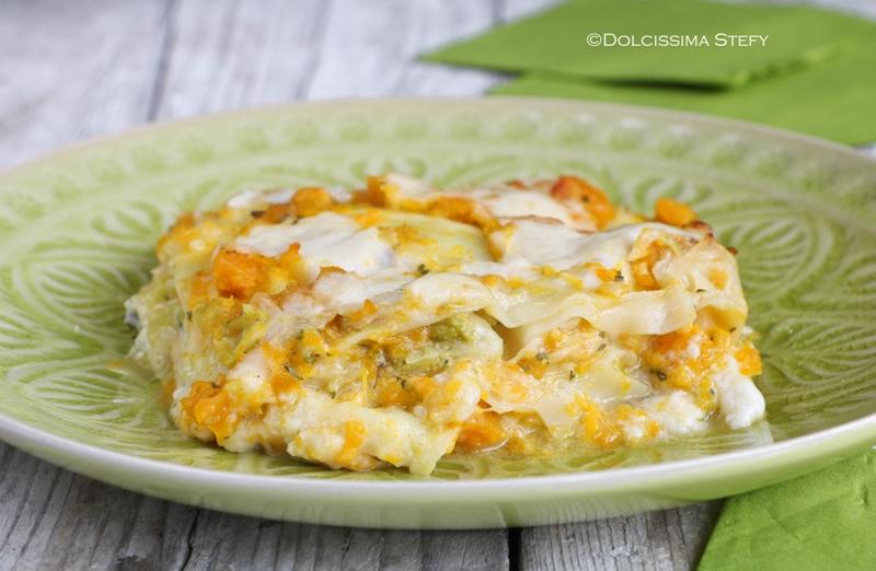 Lasagne alla Zucca e Broccoli