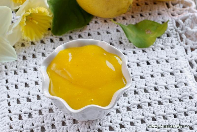 Crema al Limone senza vuova e senza latte vegana