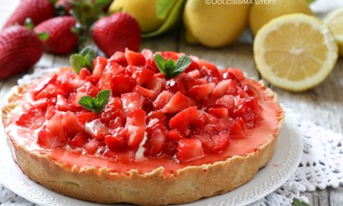 Crostata Mascarpone e Fragole