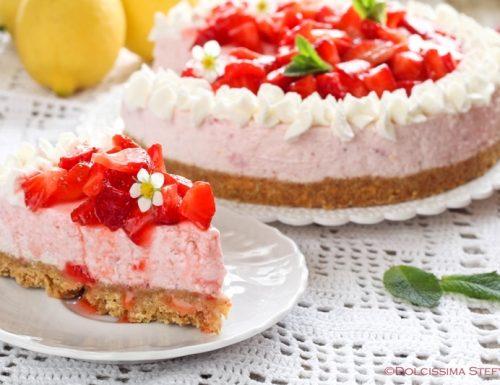 Cheesecake Fragole e Limone