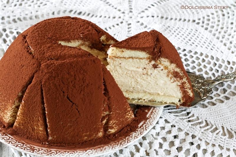 Zuccotto al Tiramisù - le ricette di Dolcissima Stefy