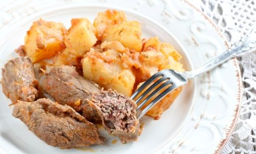 Involtini di Carne e Patate