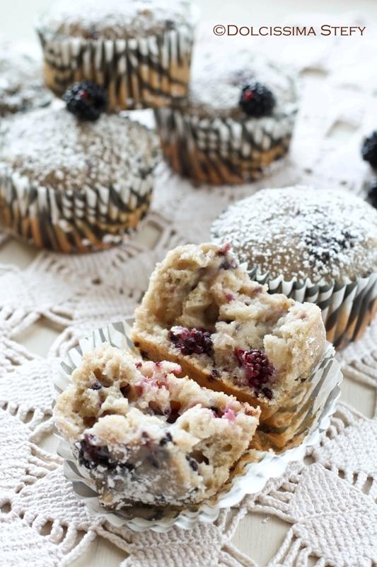 Muffin alle More e Ricotta