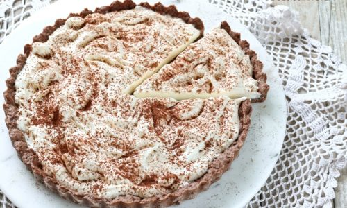 Crostata al Cioccolato e Camy Cream
