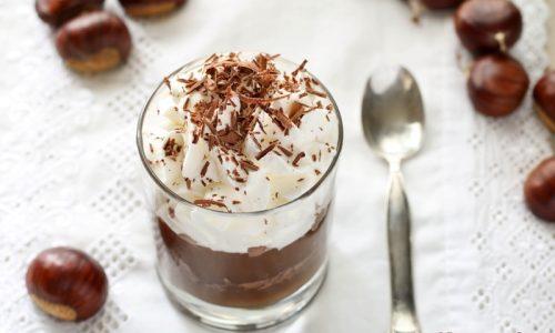 Dessert di Castagne, Cioccolato e Panna