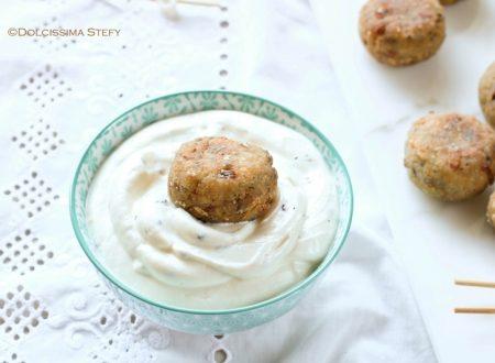 Polpette di Sgombro con salsa allo yogurt