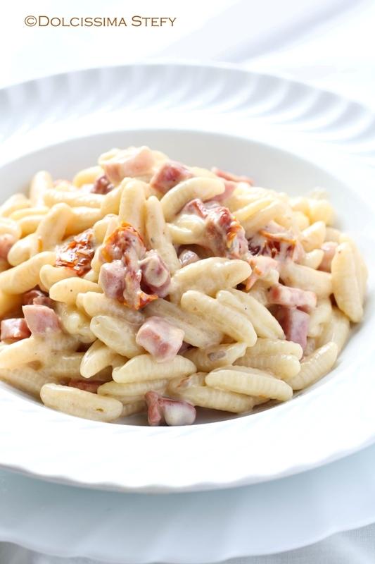 Pasta Mascarpone e Speck