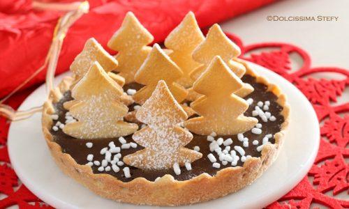 Crostata per Natale al Cioccolato
