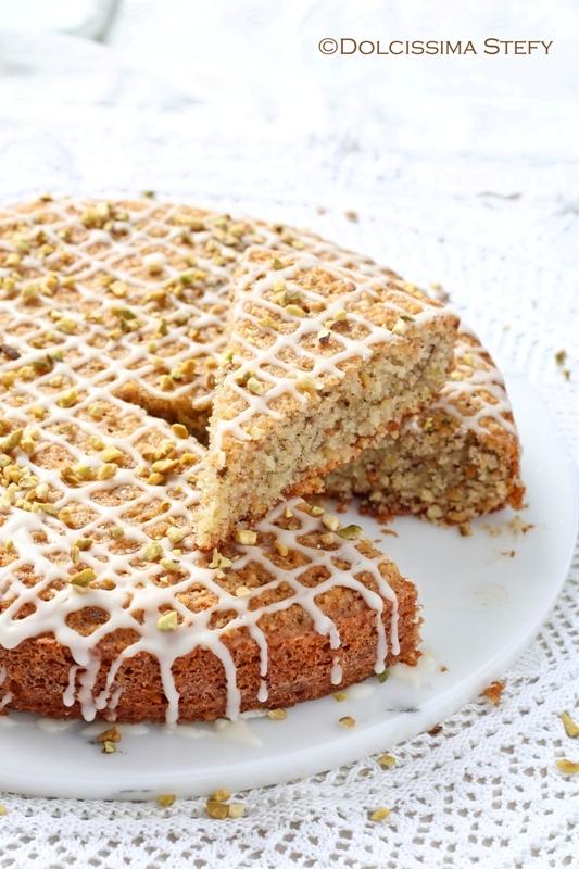 Torta di Pistacchi e Mandorle Dolcissima Stefy