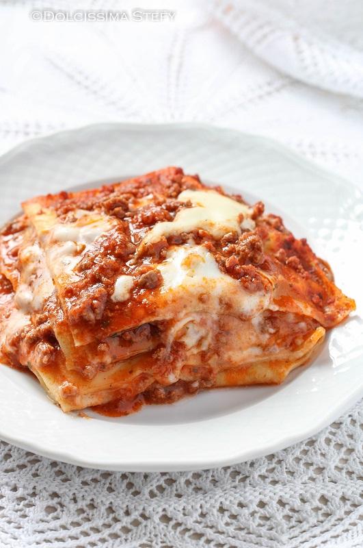 Lasagne al forno alla bolognese Dolcissima Stefy